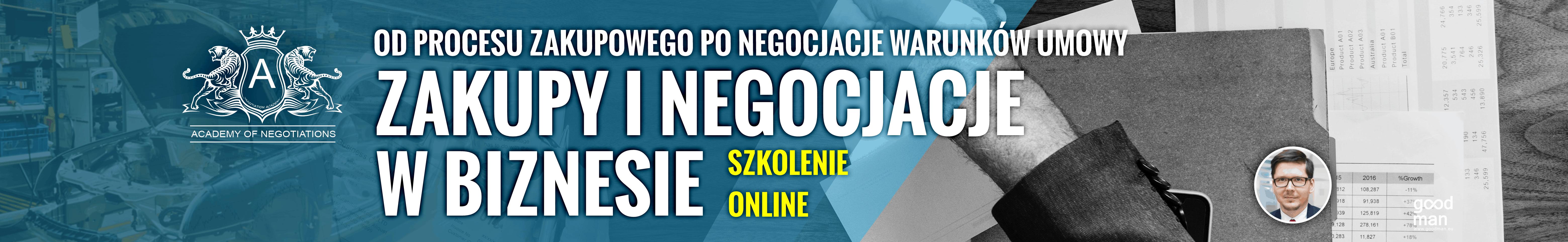 zakupy inegocjacje wbiznesie szkolenie online szkolenie zakupowe