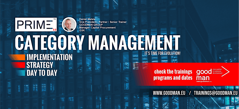CATEGORY MANAGEMENT COURSES WEBINARS ONLINE PROCUREMENT SOURCING PURCHASING MANAGEMENT BUSINESS TRAININGS