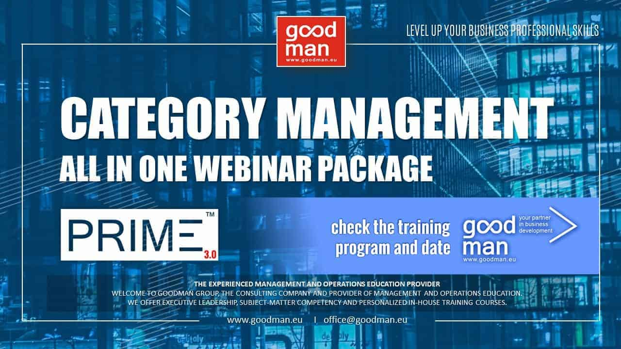category management prime business course online webinar procurement strategy
