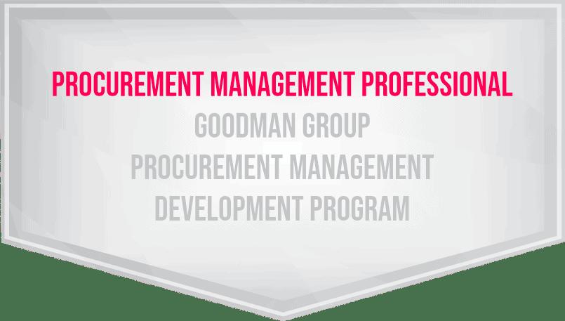 procurement management developent programe trainings procurement management professional